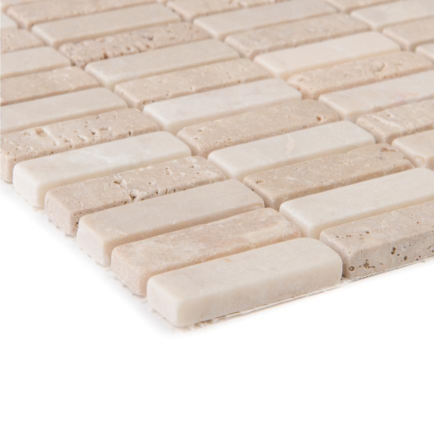 Mozaika Travertin atlas beige noce 56101 30,5x30,5