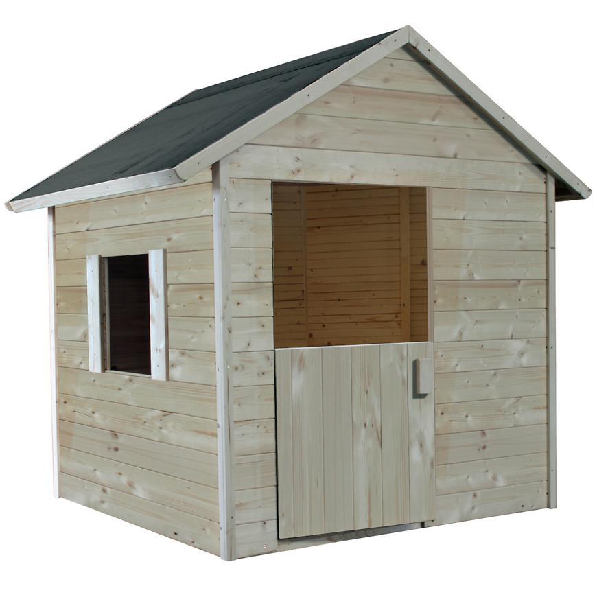 Dřevěný dětský domeček Lilas 148x127x145cm
