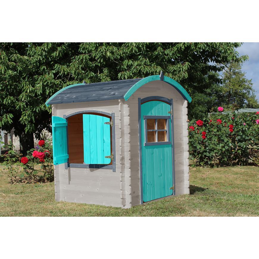 Dřevěný dětský domeček Lison 133x108x145cm