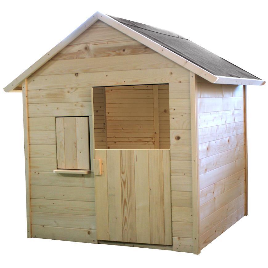 Dřevěný dětský domeček Igor 148x127x145cm