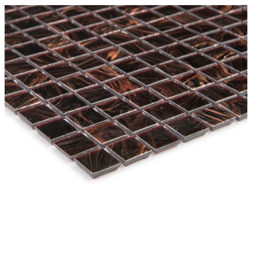 Mozaika kupfer dunkelbraun 65547 32,7x32,7x0,4