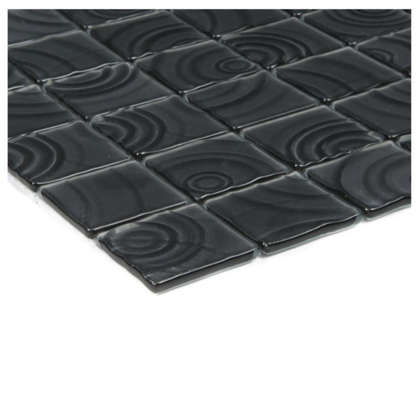 Mozaika Curve black 74471 30x30x0,5