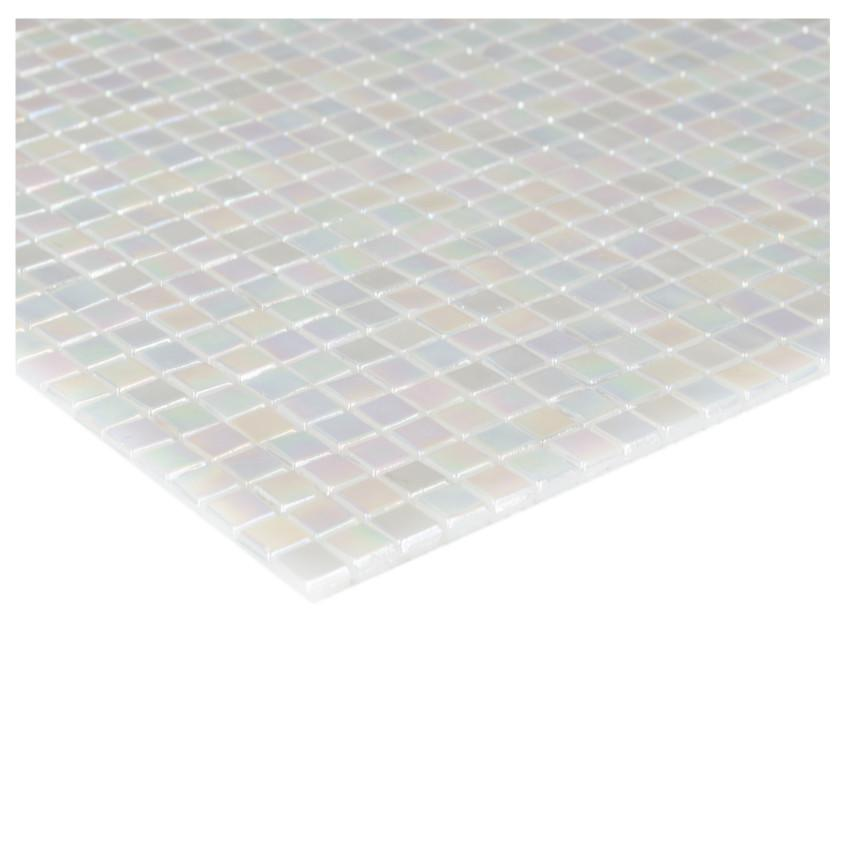 Mozaika mini white 78264 29,6x29,6x0,4