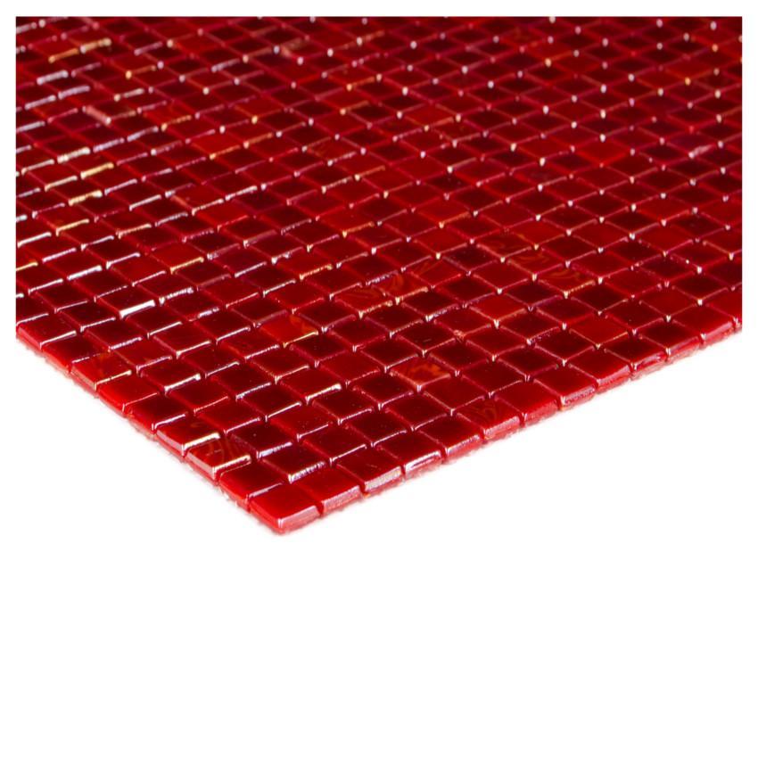 Mozaika mini red 78295 29,6x29,6x0,4