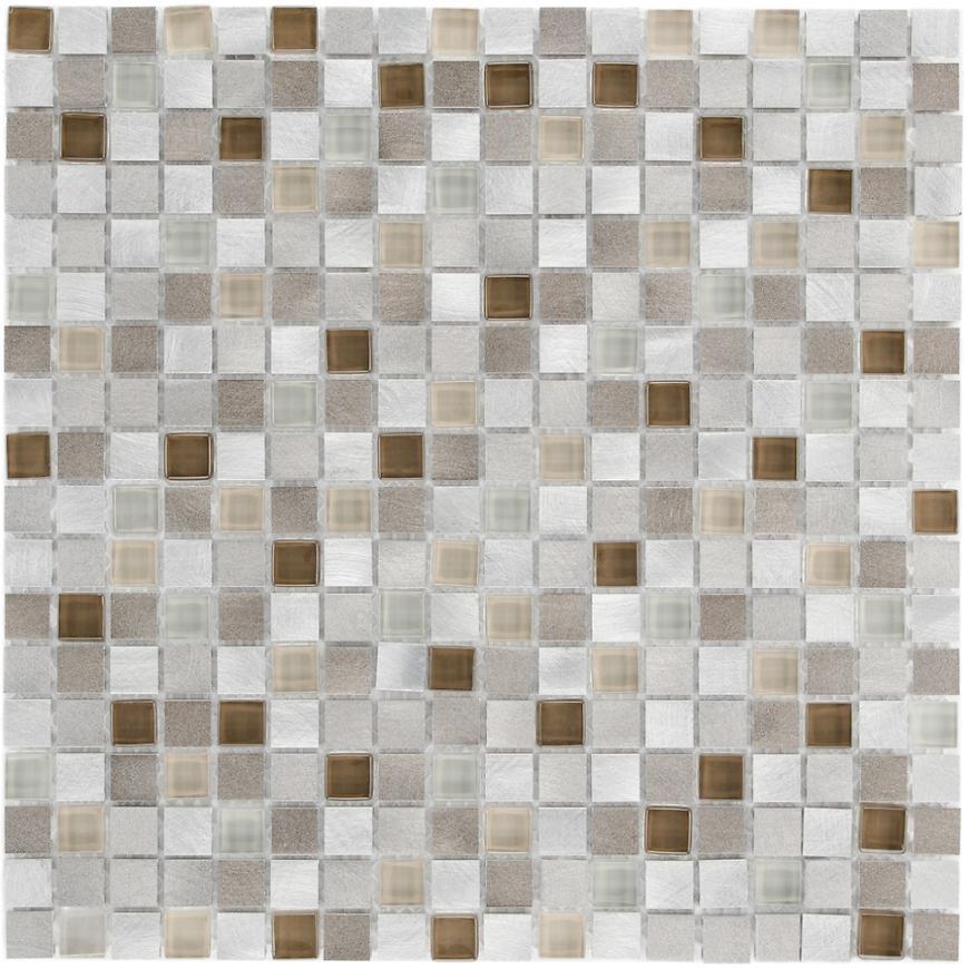 Mozaika Cosmos Earth Brown Beige 28,5x28,5x0.8