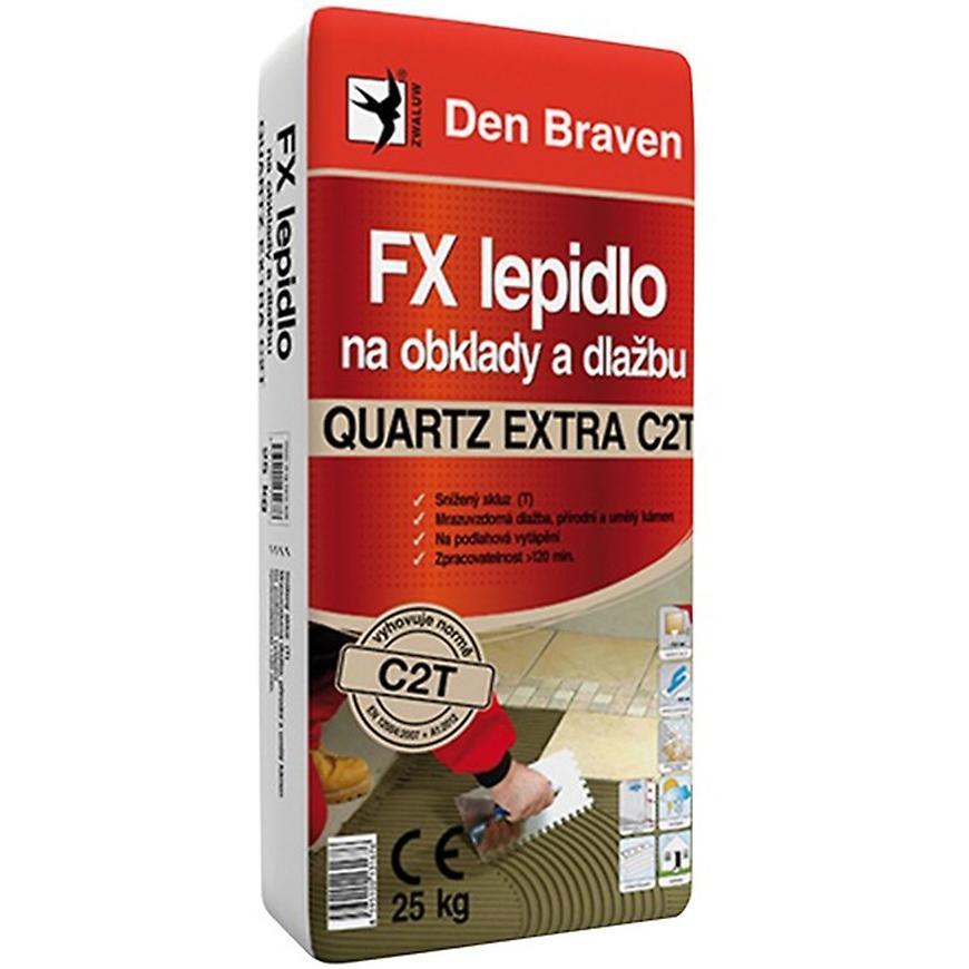 Den Braven FX lepidlo na obklady a dlažbu Quartz EXTRA C2T 25 kg