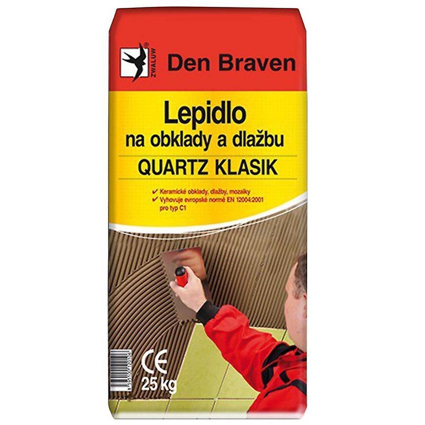 Den Braven Lepidlo na obklady a dlažbu Quartz Klasik C1 25 kg
