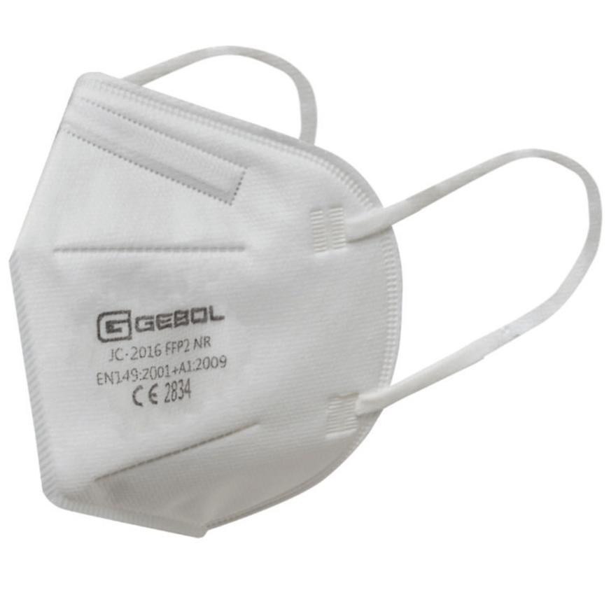 Respirátor FFP2 Compact bílý 10ks box