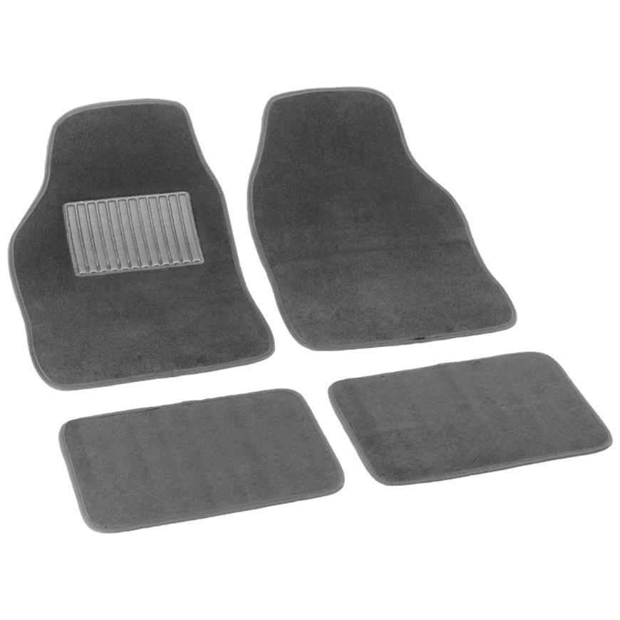 Bottari Koberce textilné soft šedé 43x64, 41x29cm, 4ks