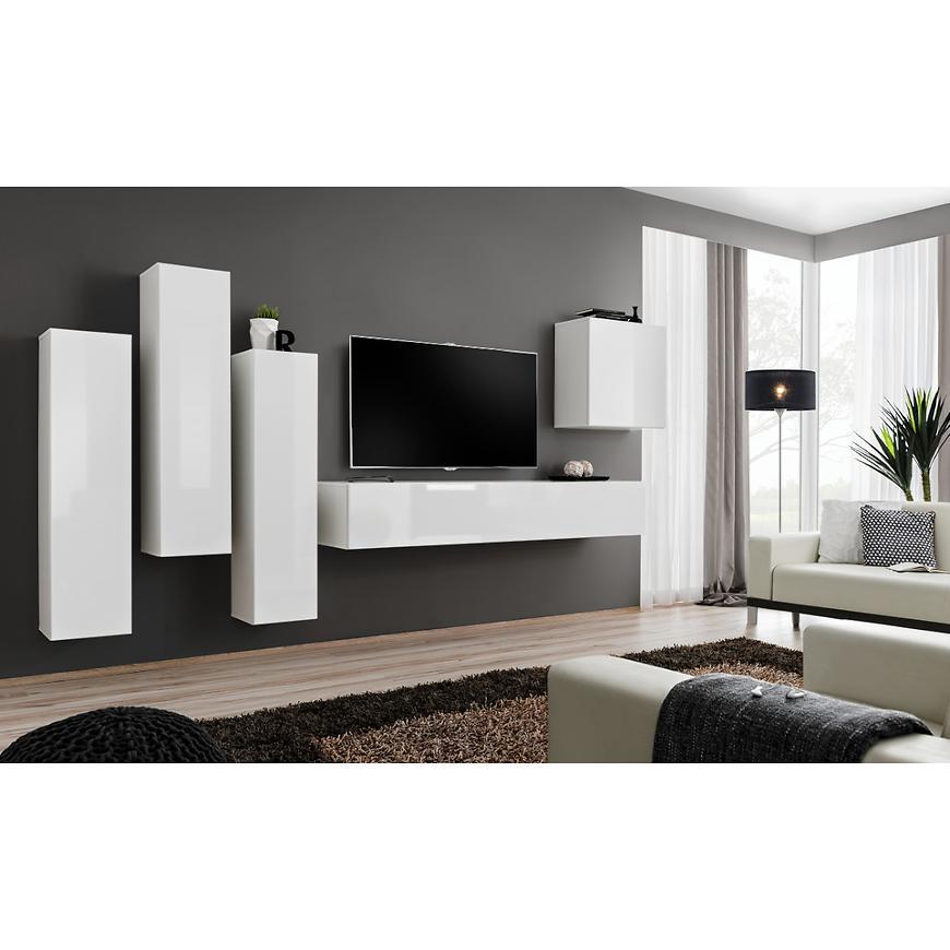 Obývací Stěna Switch III Bílý