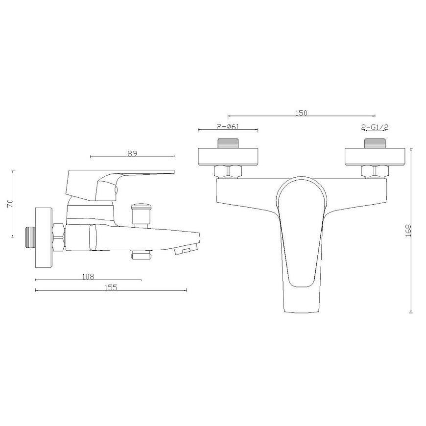 Baterie vanová Sw-33000-q1 Hypnos bílá