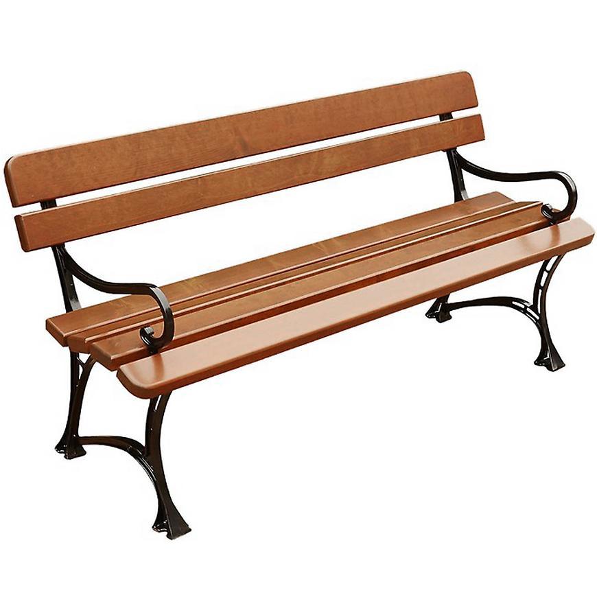 Královská zahradní lavička s područkami cypřiš