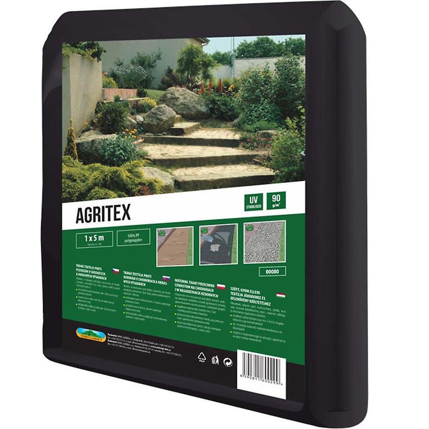 Textilie Agritex 1 x 5 m mulčovací černá