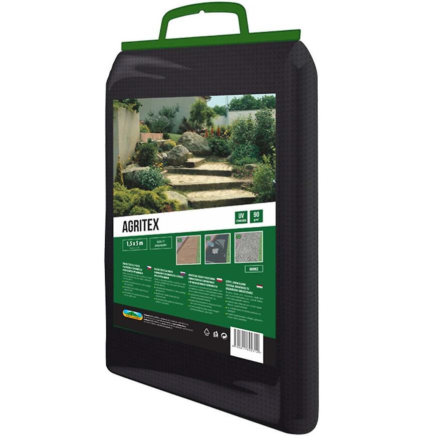 Textilie Agritex 1 x 5 m / mulčovací NG černá