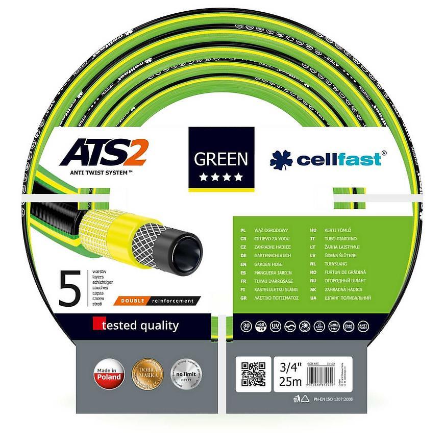 Hadice zahradní Green ATS 5 VRSTV 3/4 25mb 15-120