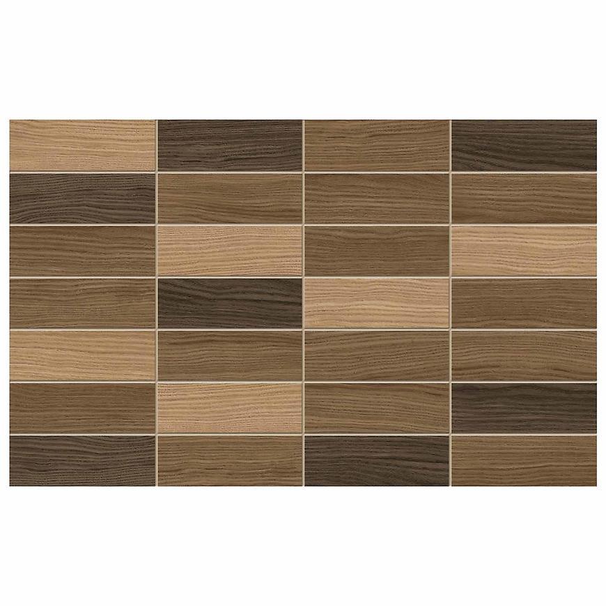 Nástěnný obklad Karelia Mosaic Brown 25/40