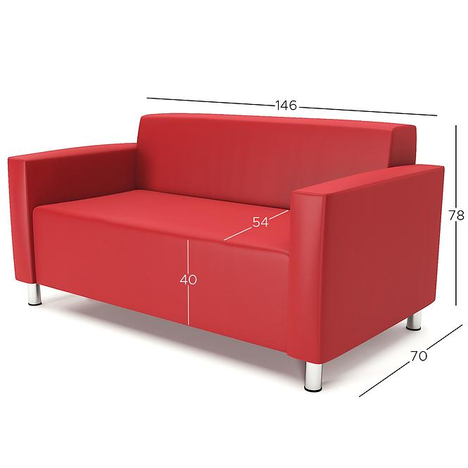 Sofa Hugo 2 madryt 160