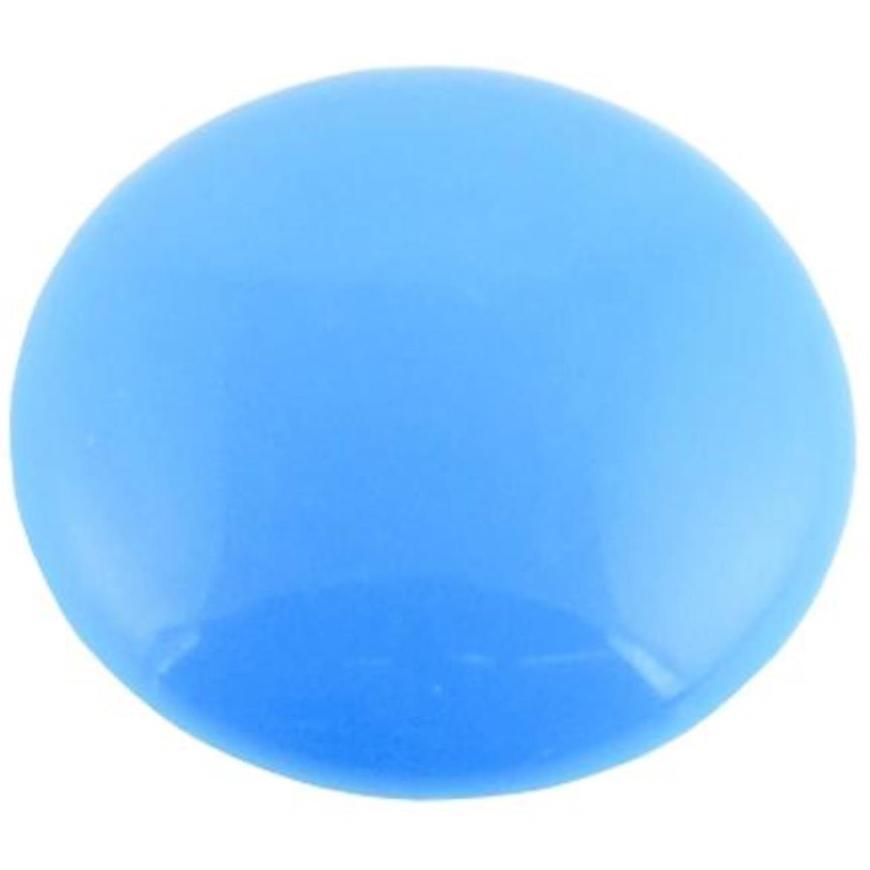 Magnet kulatý 32 modrý plochý