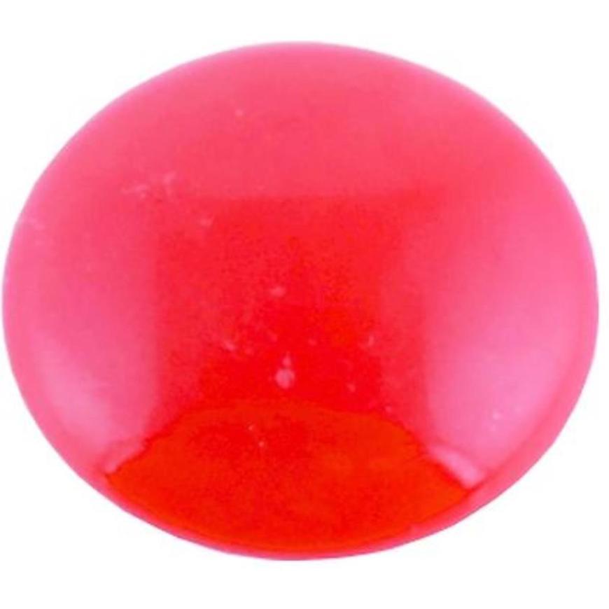 Magnet kulatý 32 červený plochý