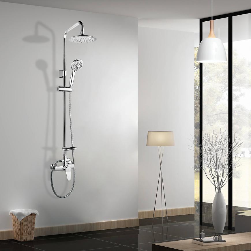 Sprchový set s dešťovou hlavicí Alfa ZDS07