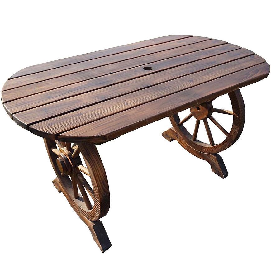 Dřevěný stůl 120x65x68
