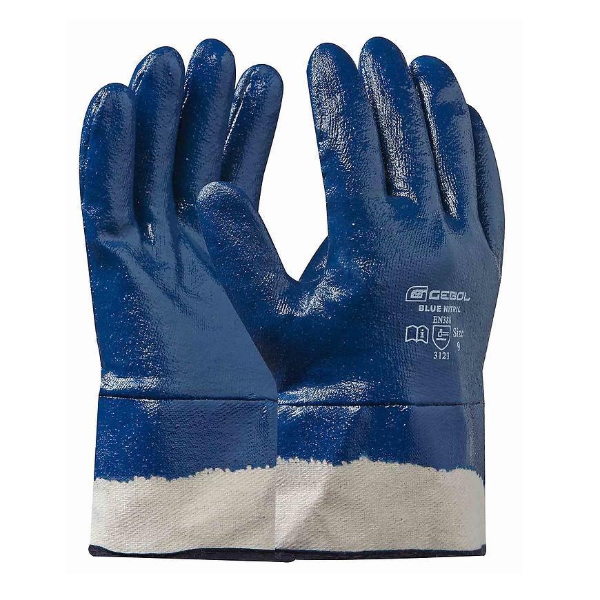 Rukavice blue nitril 10