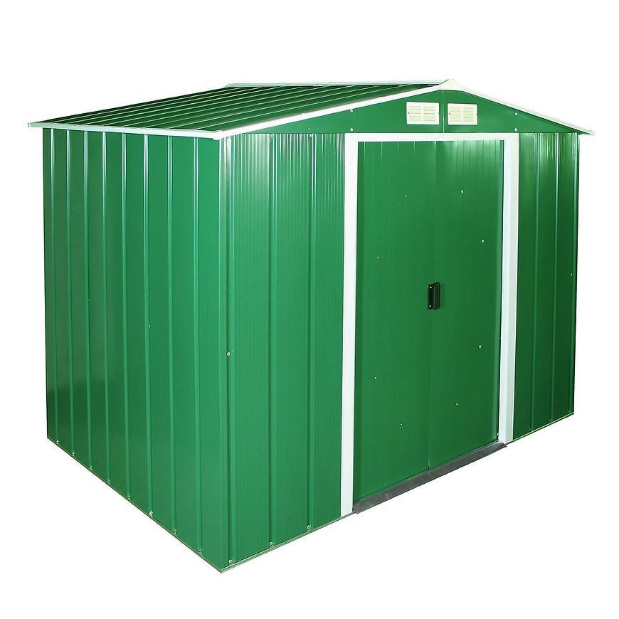 Eco kovový zahradní domek 1221x2020x1805 zelený