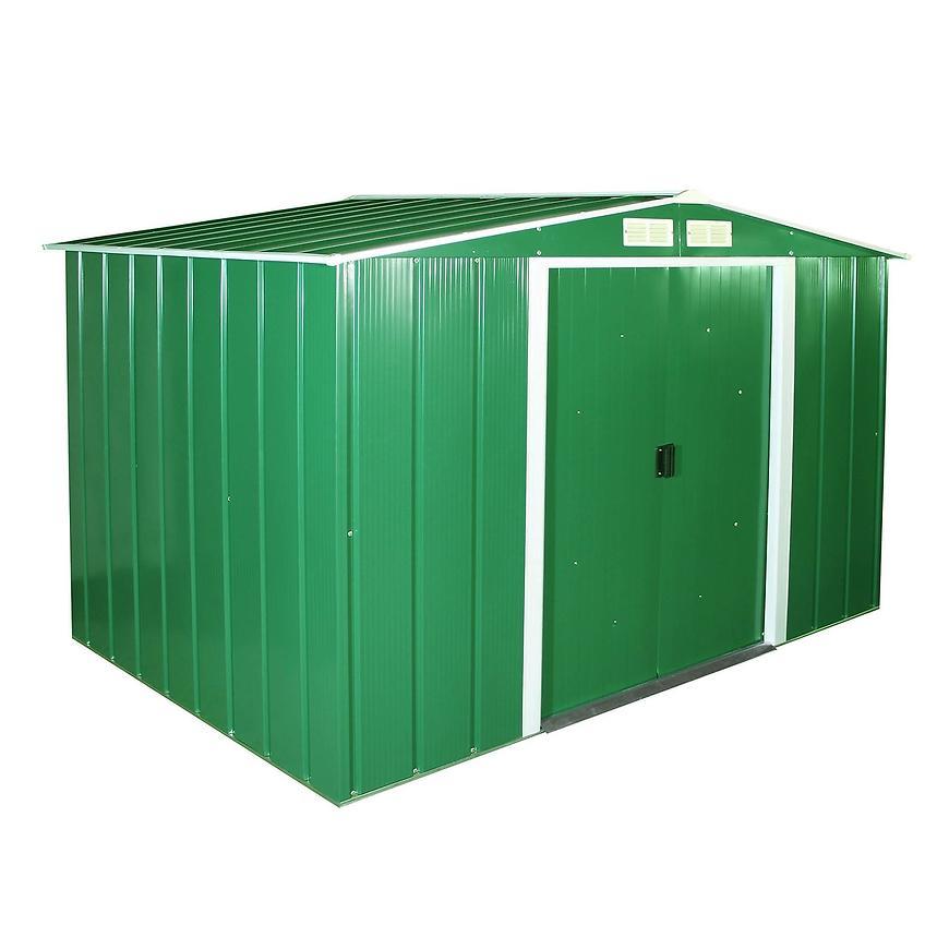 Eco kovový zahradní domek 1822x2620x1910 zelený