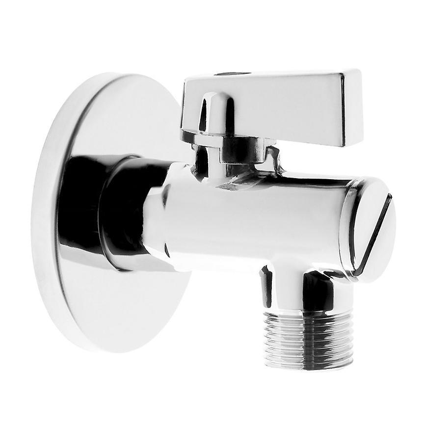 """Kulový ventil 1/2"""" x 3/8"""" s rozetou a filtrem"""