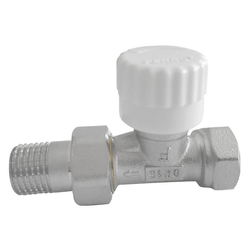 """Termostatický ventil průběžný 1/2"""" rovný"""