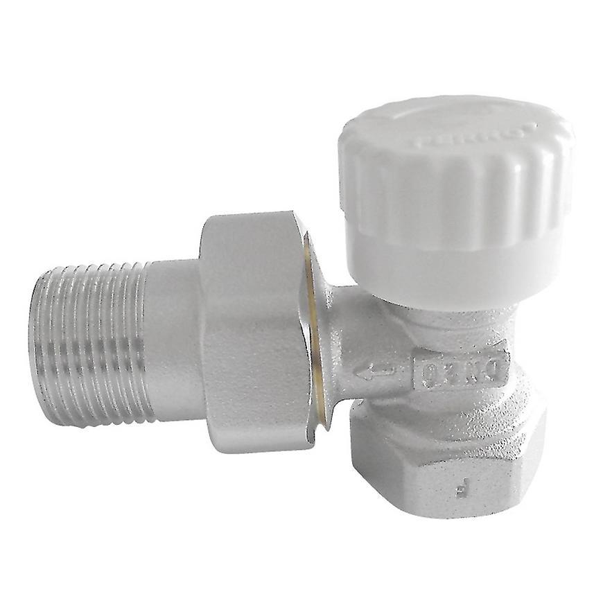 "Termostatický ventil průběžný 1/2"" rohový"