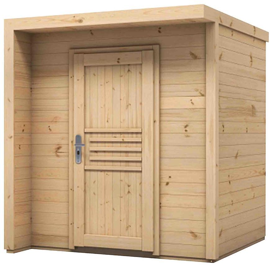 Dřevěný zahradní domek Bratek 207x202