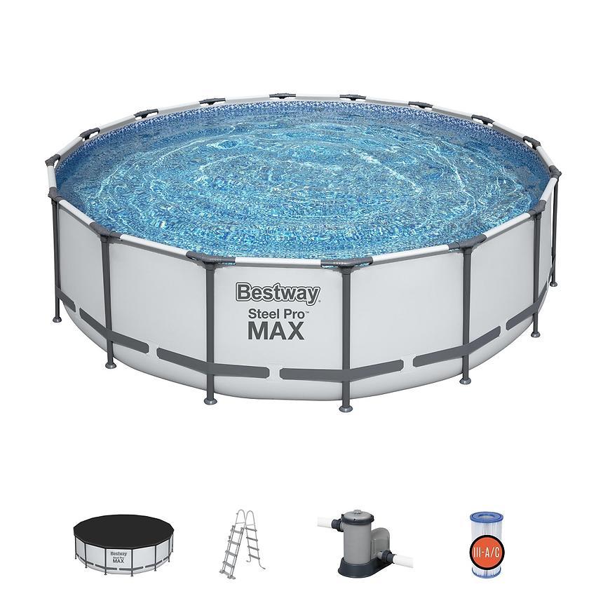 Bazén s kostrukcí a filtrací 4,88x1,22m 5612z