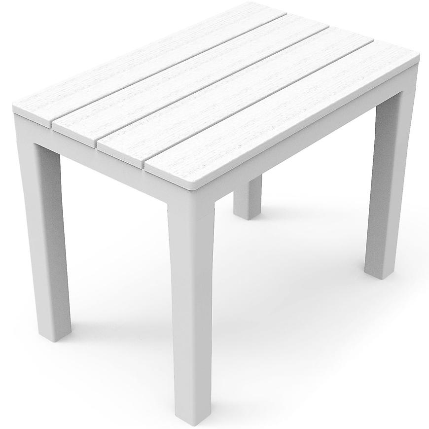 Stolička Timor bílá