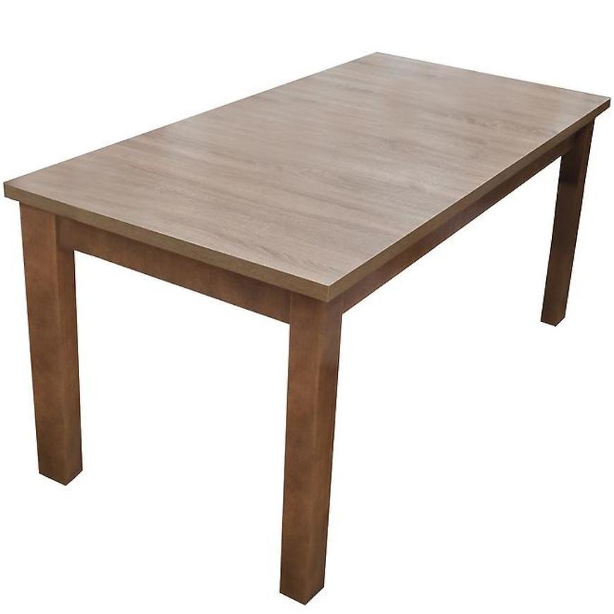 Stůl 160x80+40 Dub