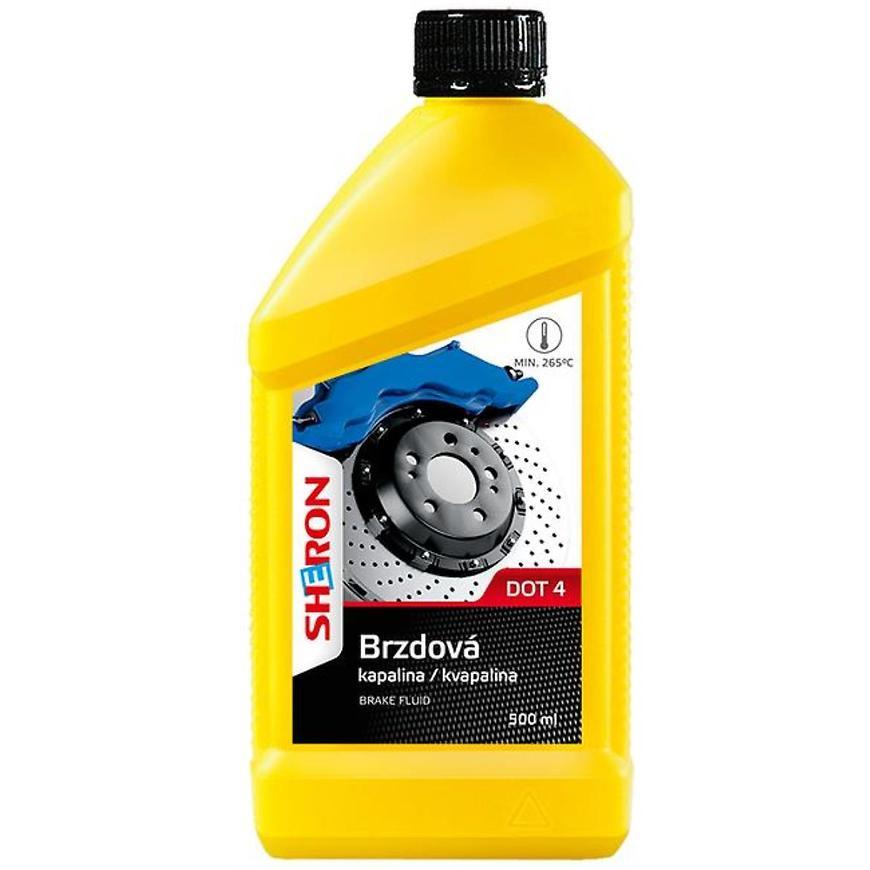 Sheron brzdová kapalina DOT 4 500 ml
