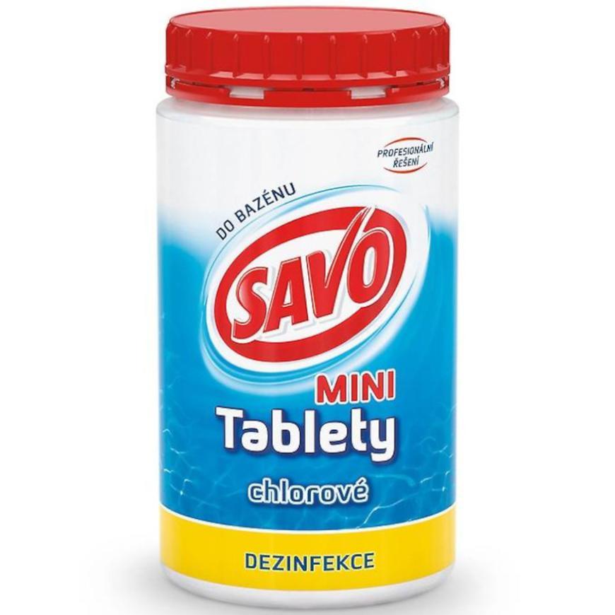 Savo do bazénu tablety mini 0,9 kg