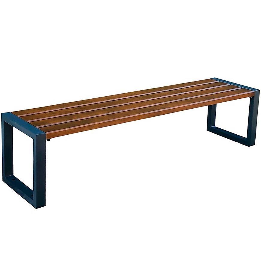 Moderní lavice ořech