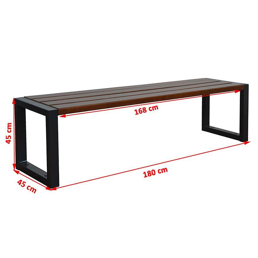 Moderní lavice palisander