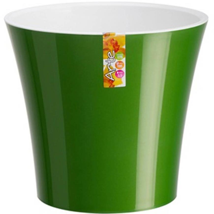 Samozavlažovací obal Arte 3,5 l zelená/bílá