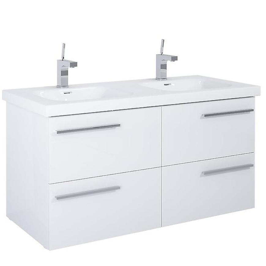 Skříňka Royal 120 4S white DSM
