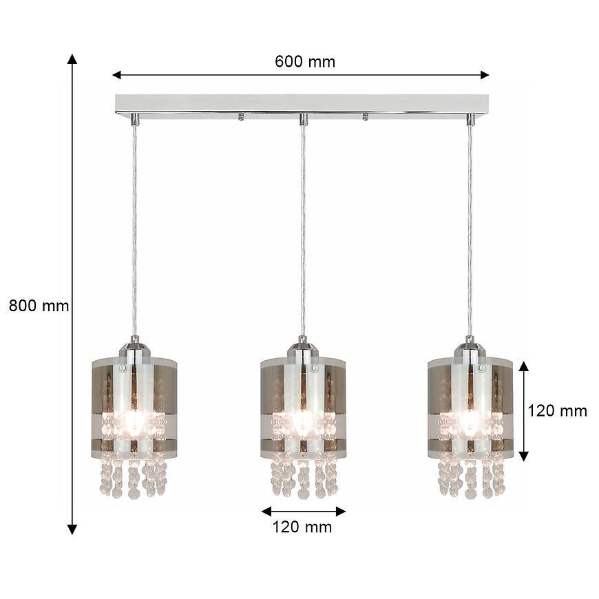 Závěsné svítidlo Bru P17017-3 LW3