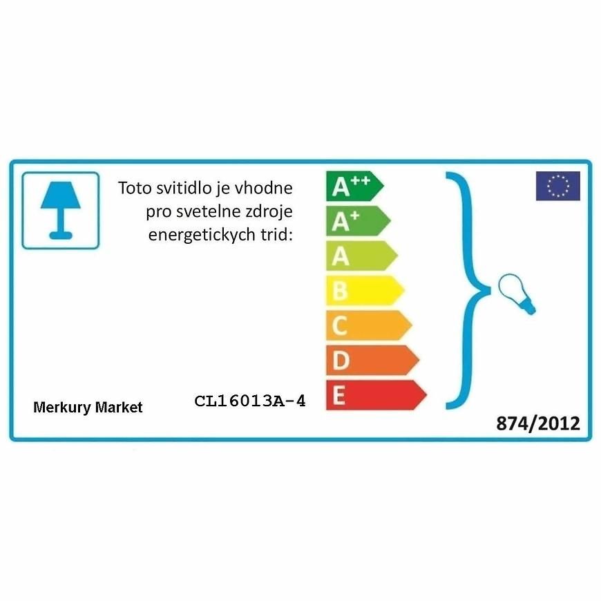 Závěsné svítidlo Tivol cl16013a-4 lw4