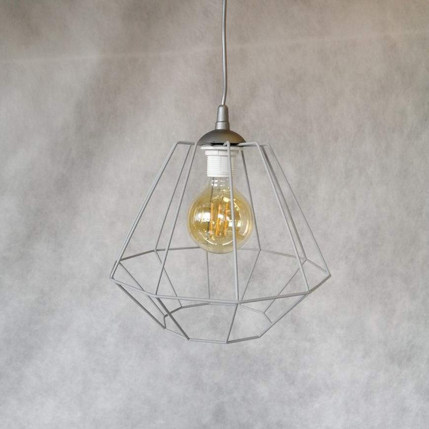 Závěsné svítidlo Diamond gray 2001 lw1