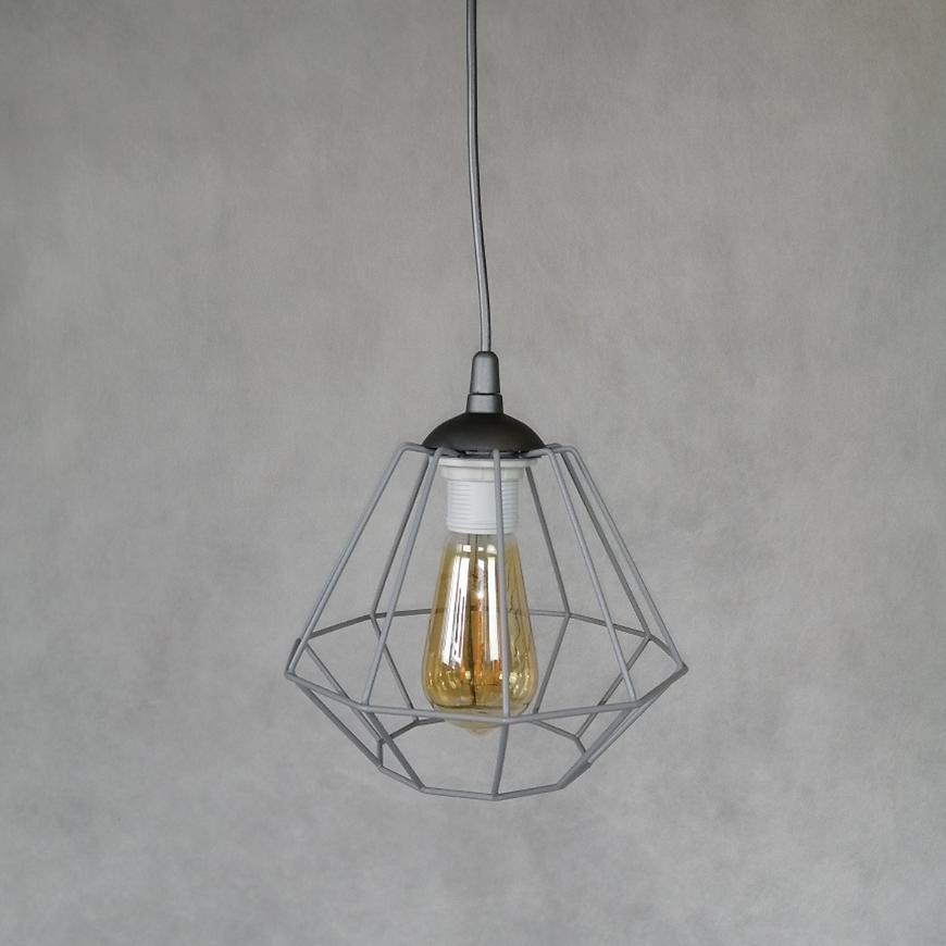 Závěsné svítidlo Diamond gray 2002 lw1