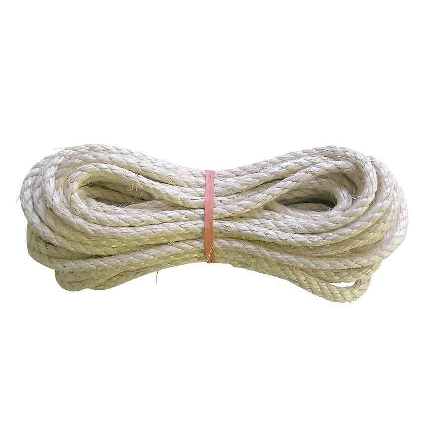 Sisal - lano stáčené 4 mm 30 m