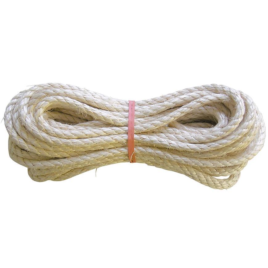 Sisal lano stáčené 8 mm 15 m