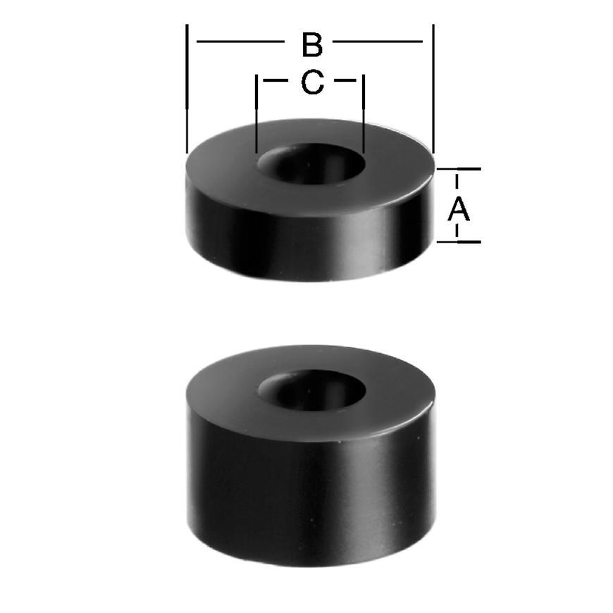 Podložka distan 10 mm B 15 ks
