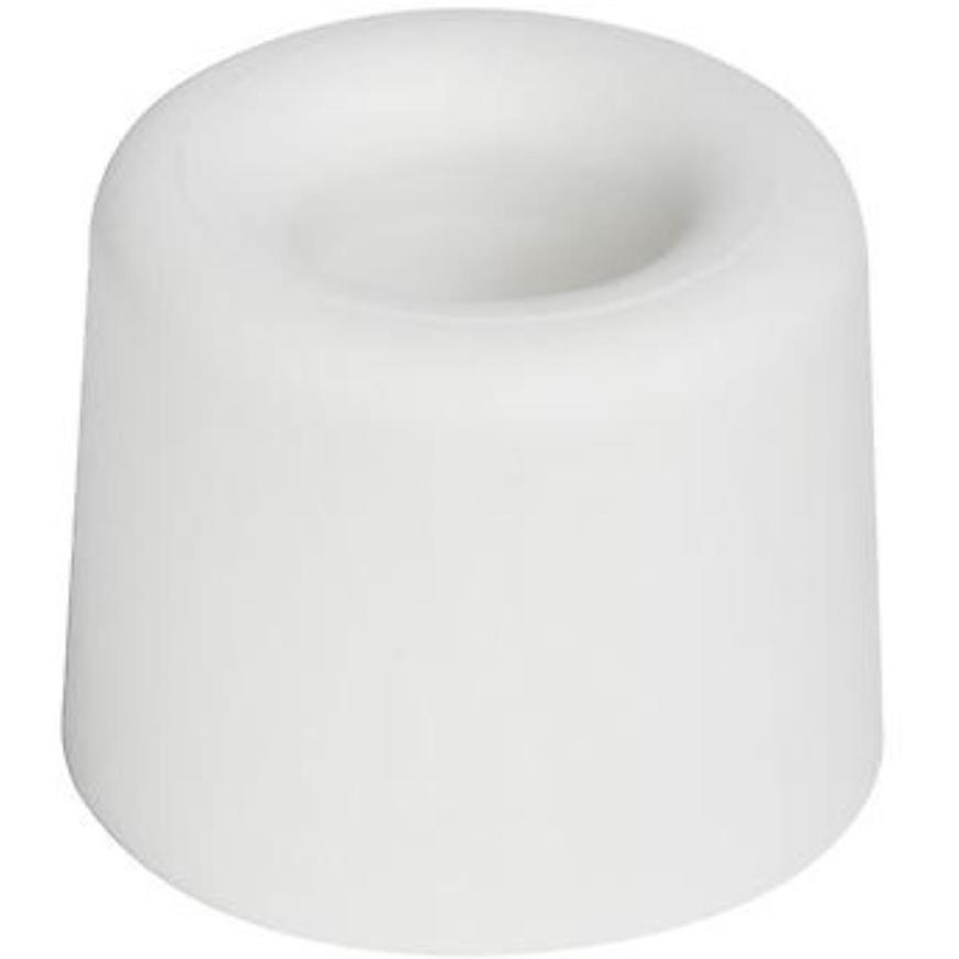 Zarážka 29,5x25 mm, bílá