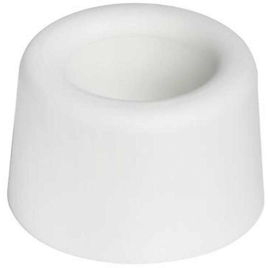 Zarážka 40x25 mm, bílá